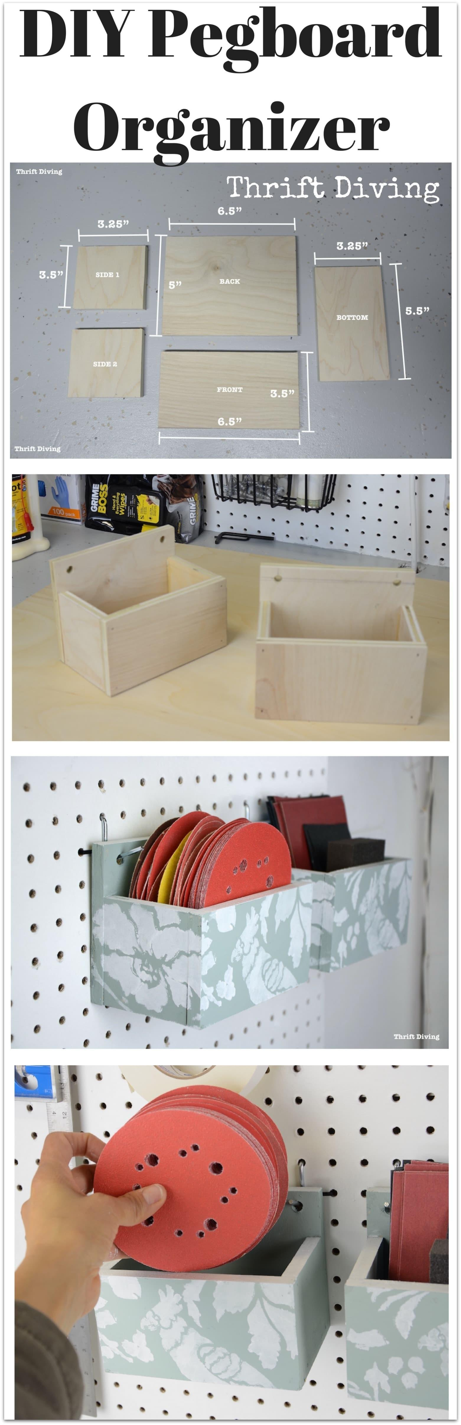 Make Diy Pegboard Organizer Your Garage
