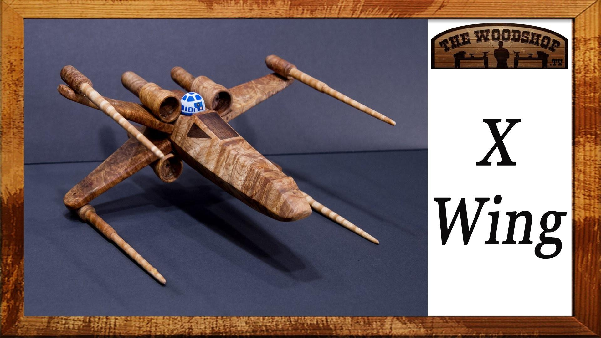 Make Diy Star Wars Wing Starfighter Woodworking
