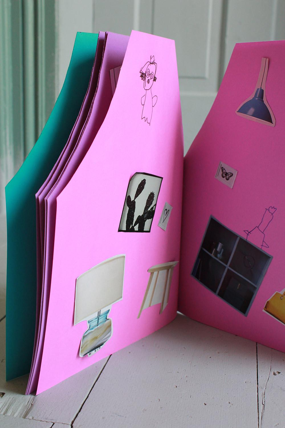 Make Dollhouse Notebook Mer Mag