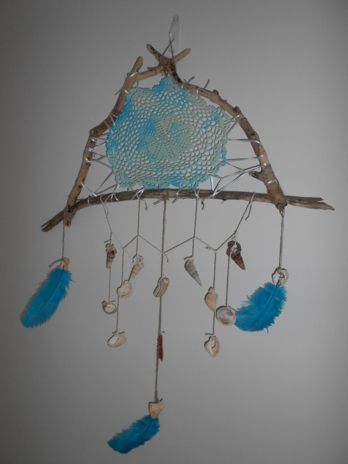 Make Driftwood Dream Catcher Everywhere
