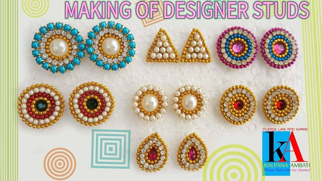 Make Earring Studs Patches Home Diy Tutorials