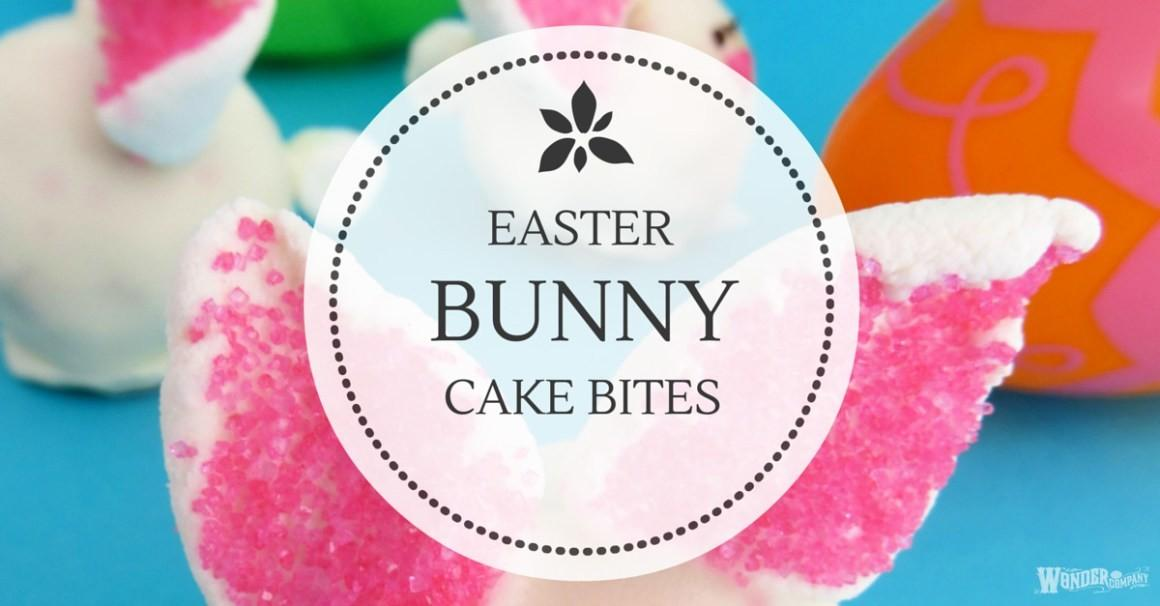 Make Easter Bunny Cake Bites Easy Diy Food Craft