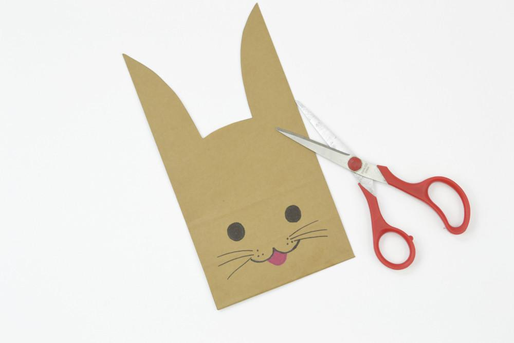 Make Easter Bunny Treat Bags