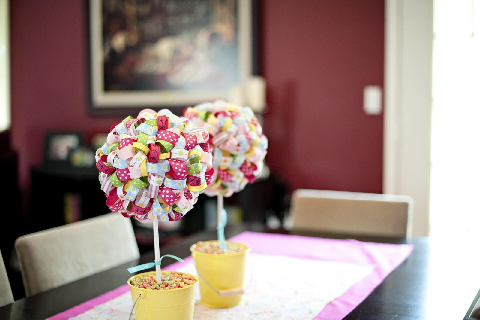 Make Easter Table Decoration Photograph Had Some
