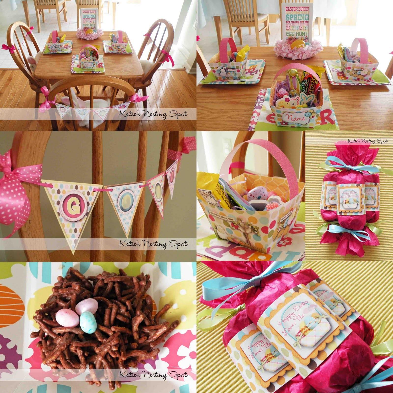 Make Easter Table Decoration Photograph Perfect