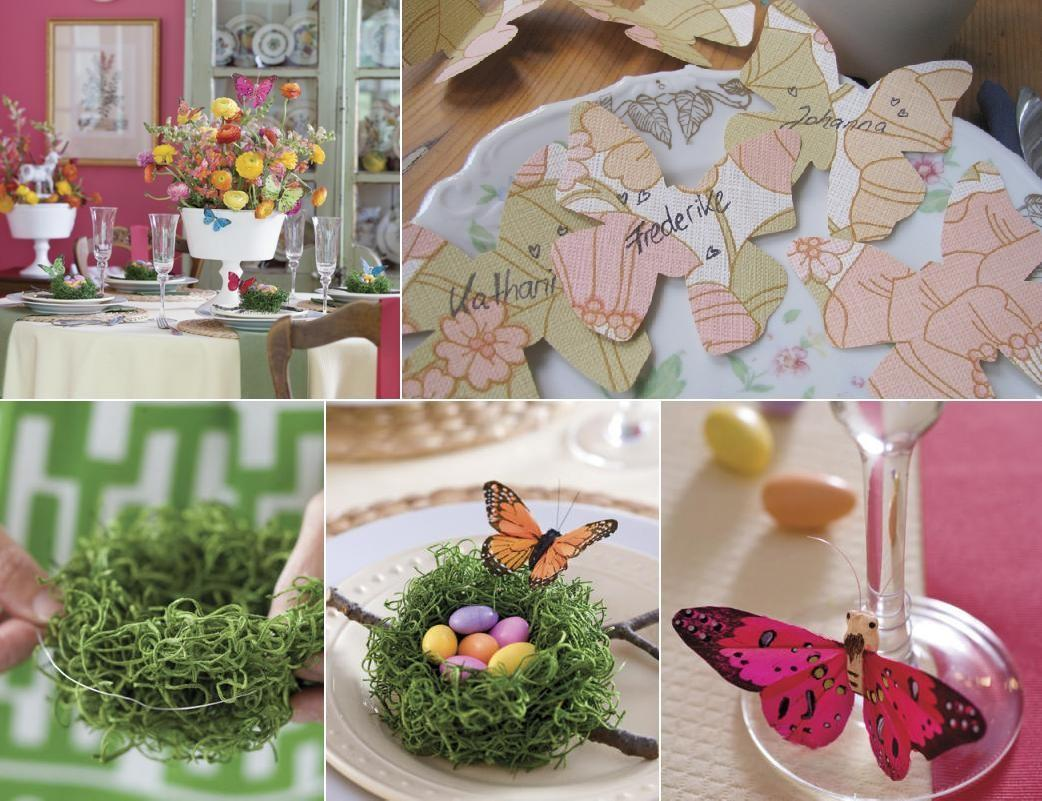 Make Easter Table Decoration Photograph Southern
