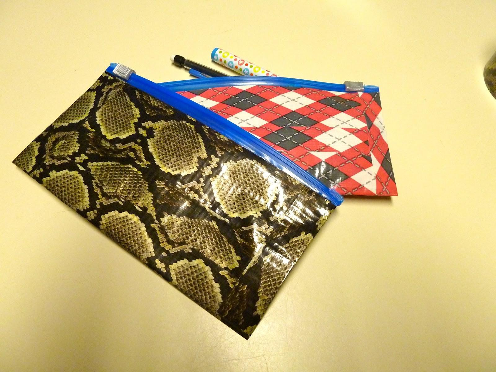 Make Easy Crafts Duct Tape Pencil Pouch