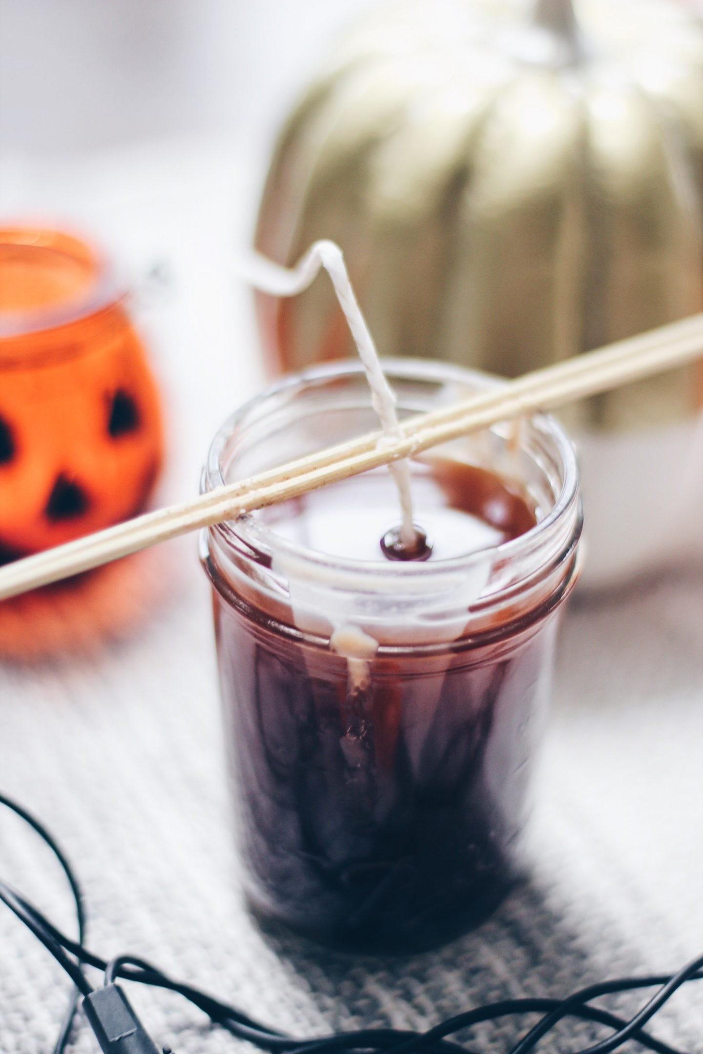 Make Easy Diy Pumpkin Spice Soy Candles