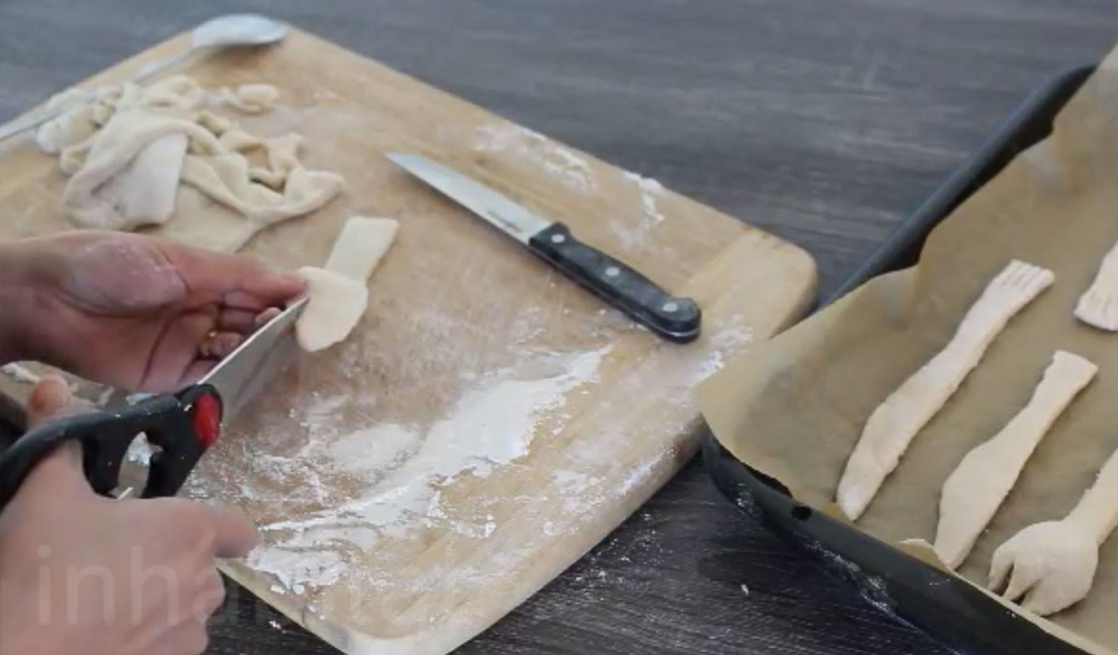 Make Edible Utensils Can Eat After