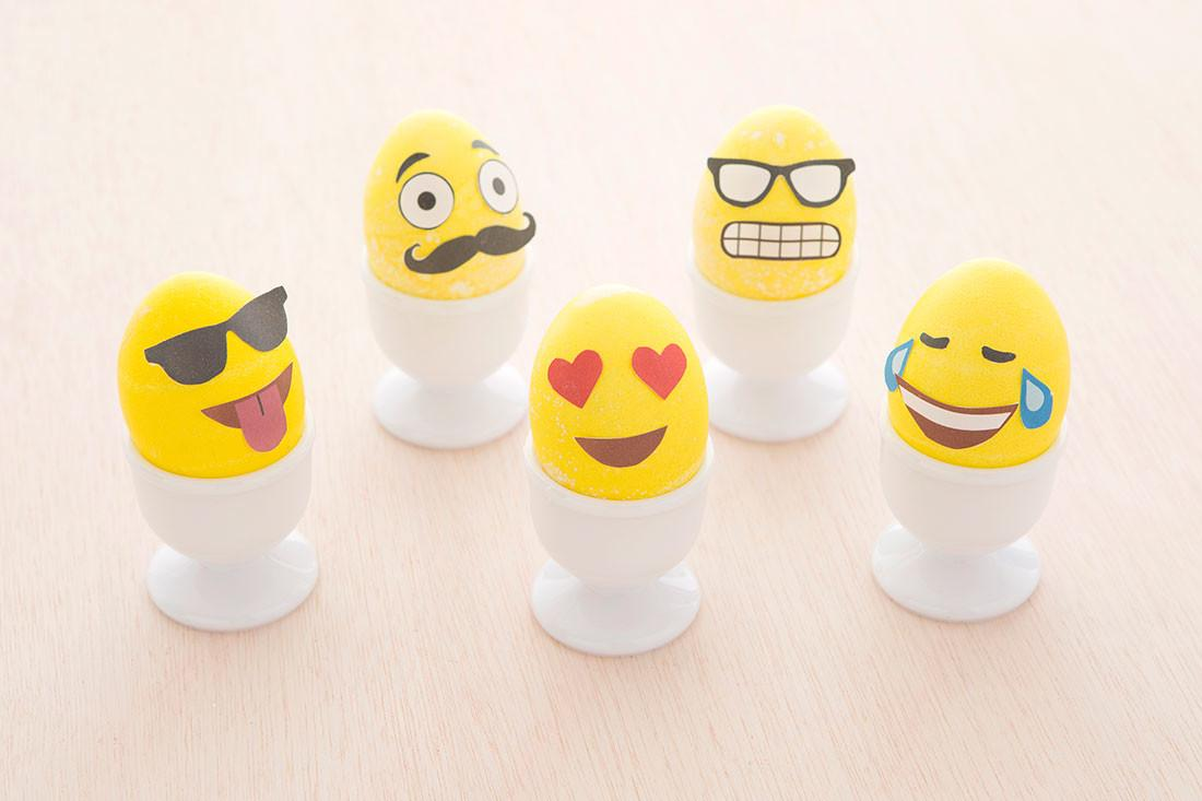 Make Emoji Easter Eggs Printable Brit