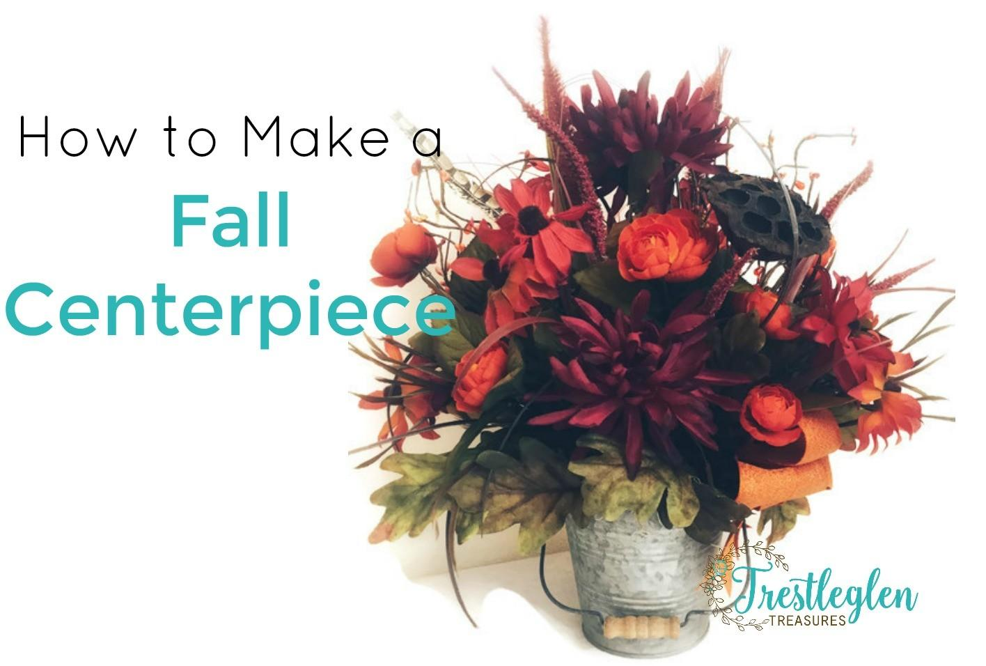Make Fall Centerpieces Your Holiday Table Farm Style