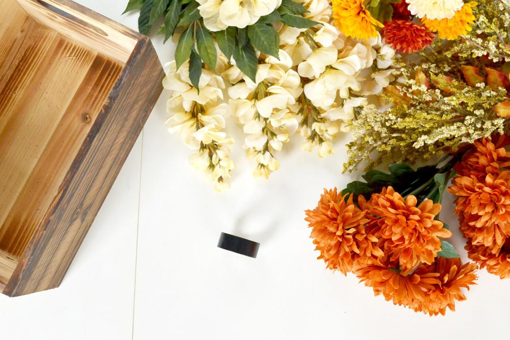 Make Fall Table Centerpiece
