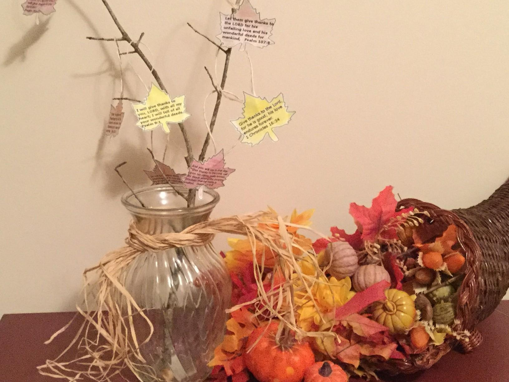 Make Family Thanksgiving Tree Katie Homeschool Cottage