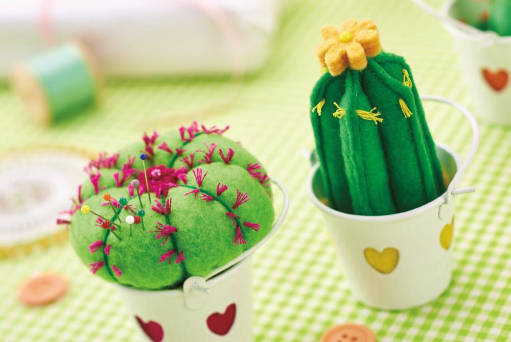 Make Felt Cactus Pincushions Hobbycraft Blog