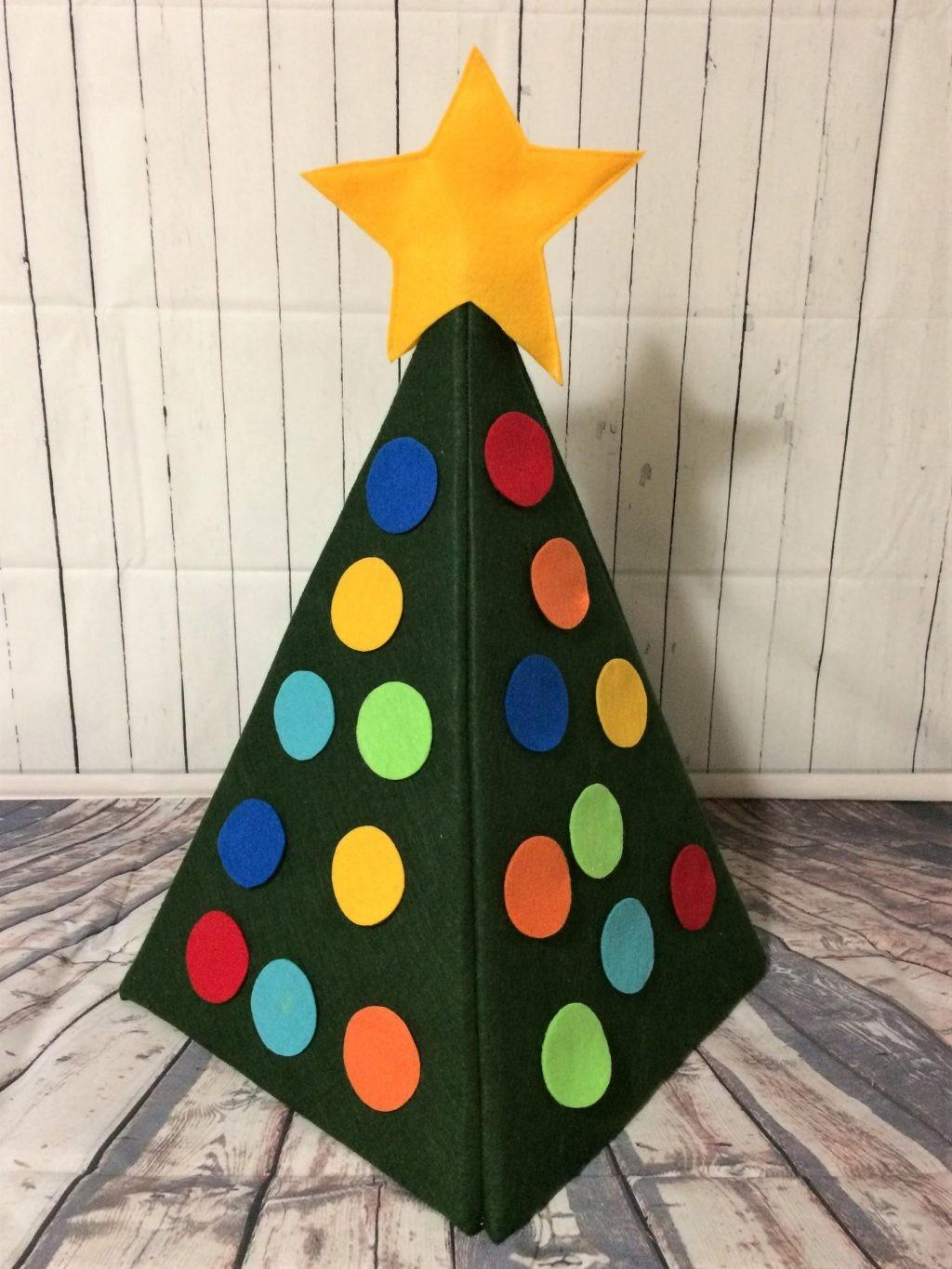 Make Felt Christmas Tree Kidsfelt