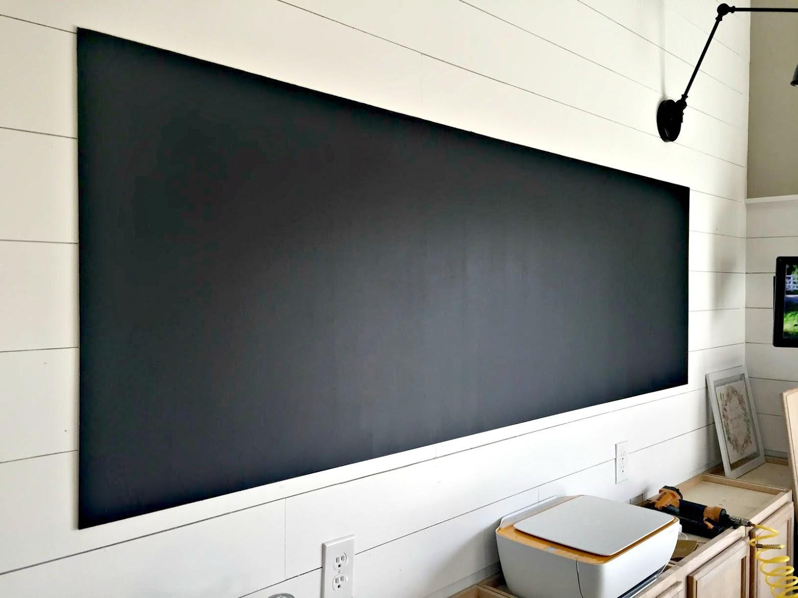 Make Giant Diy Chalkboard Thrifty Decor Chick