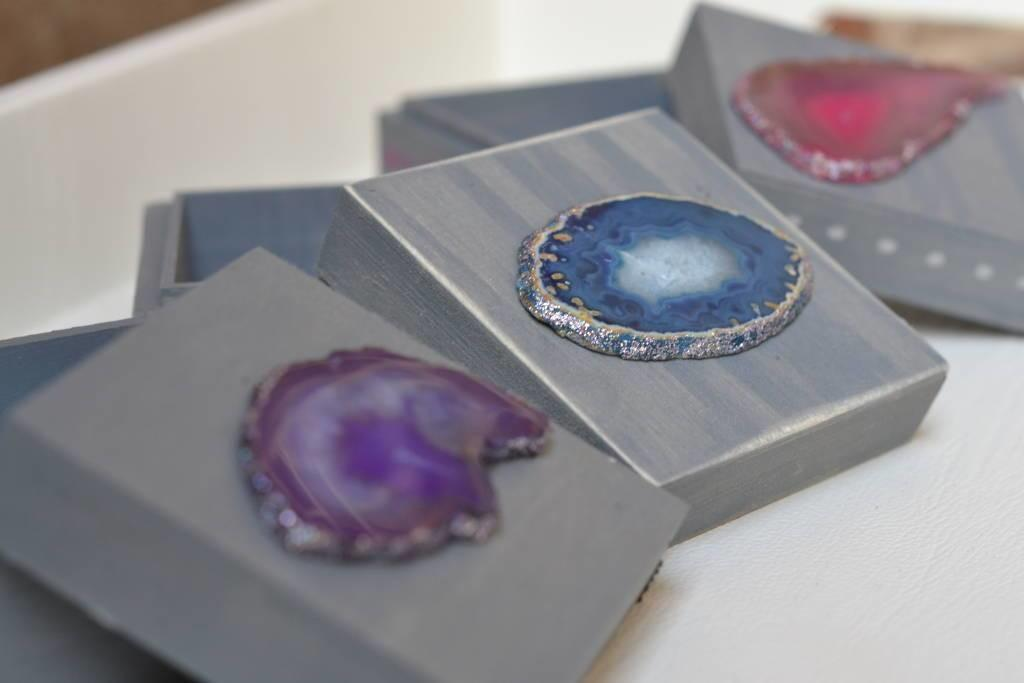 Make Gorgeous Diy Agate Jewelry Boxes Crafting