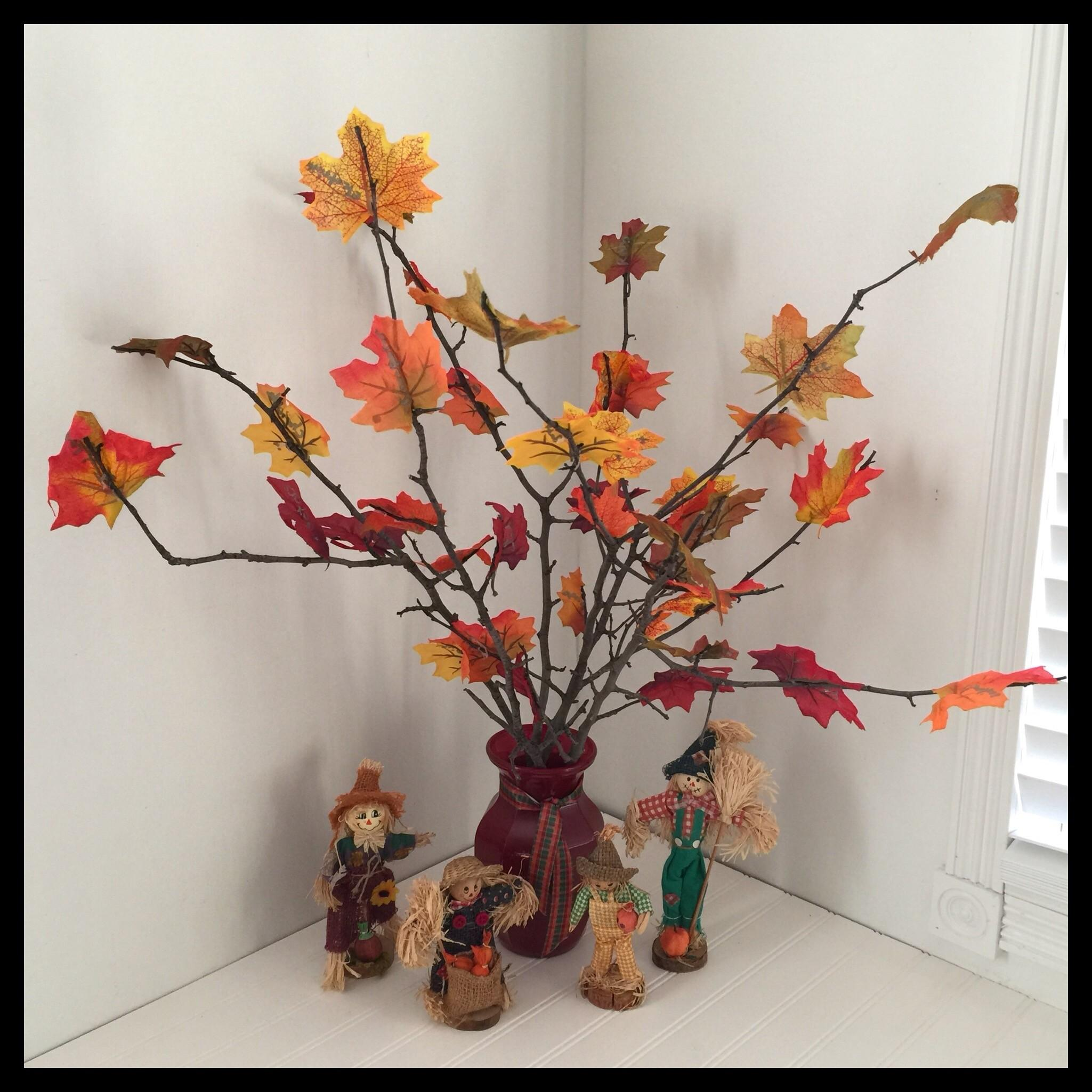 Make Gratitude Tree Mabon Thanksgiving Vegan