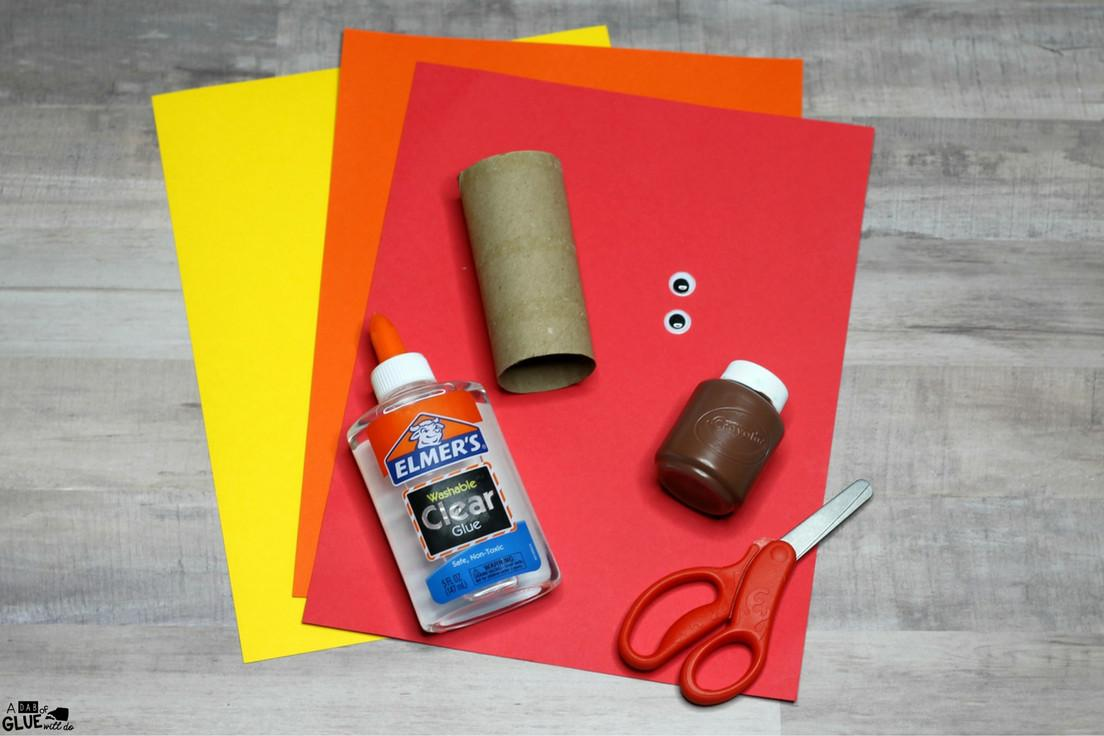 Make Handprint Turkey Craft Thanksgiving