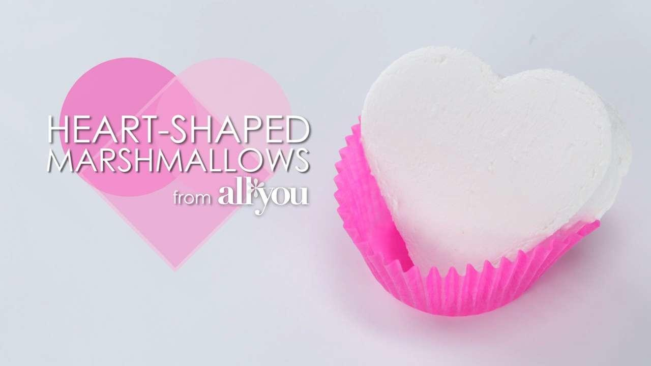 Make Heart Shaped Marshmallows Myrecipes
