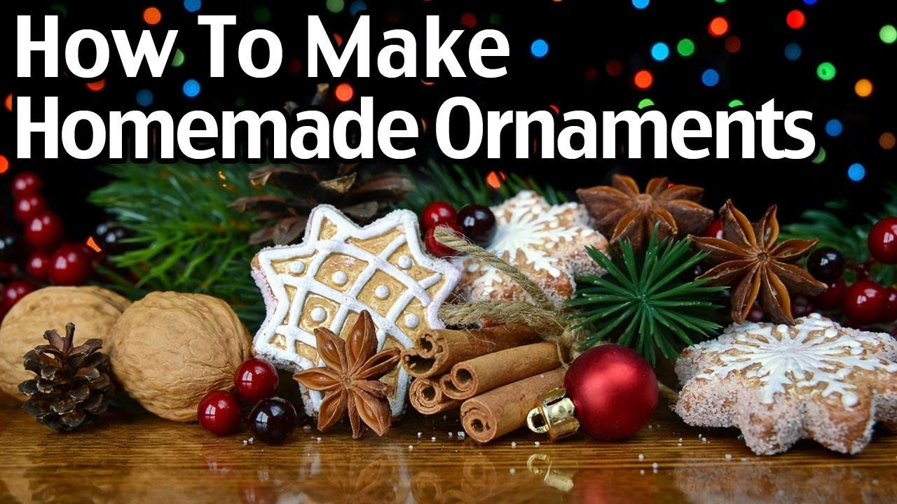 Make Homemade Clay Cinnamon Christmas Ornaments