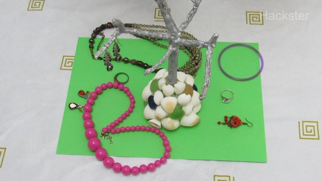 Make Jewelry Organizer Out Natural Materials