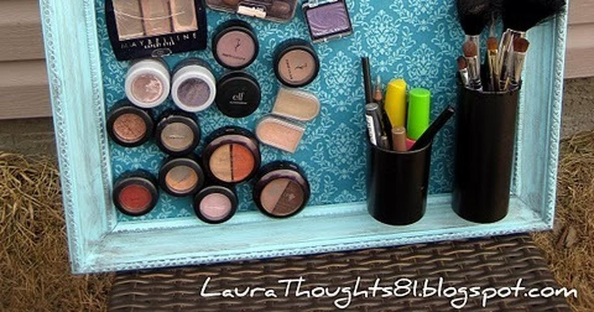 Make Magnet Makeup Board Curbly