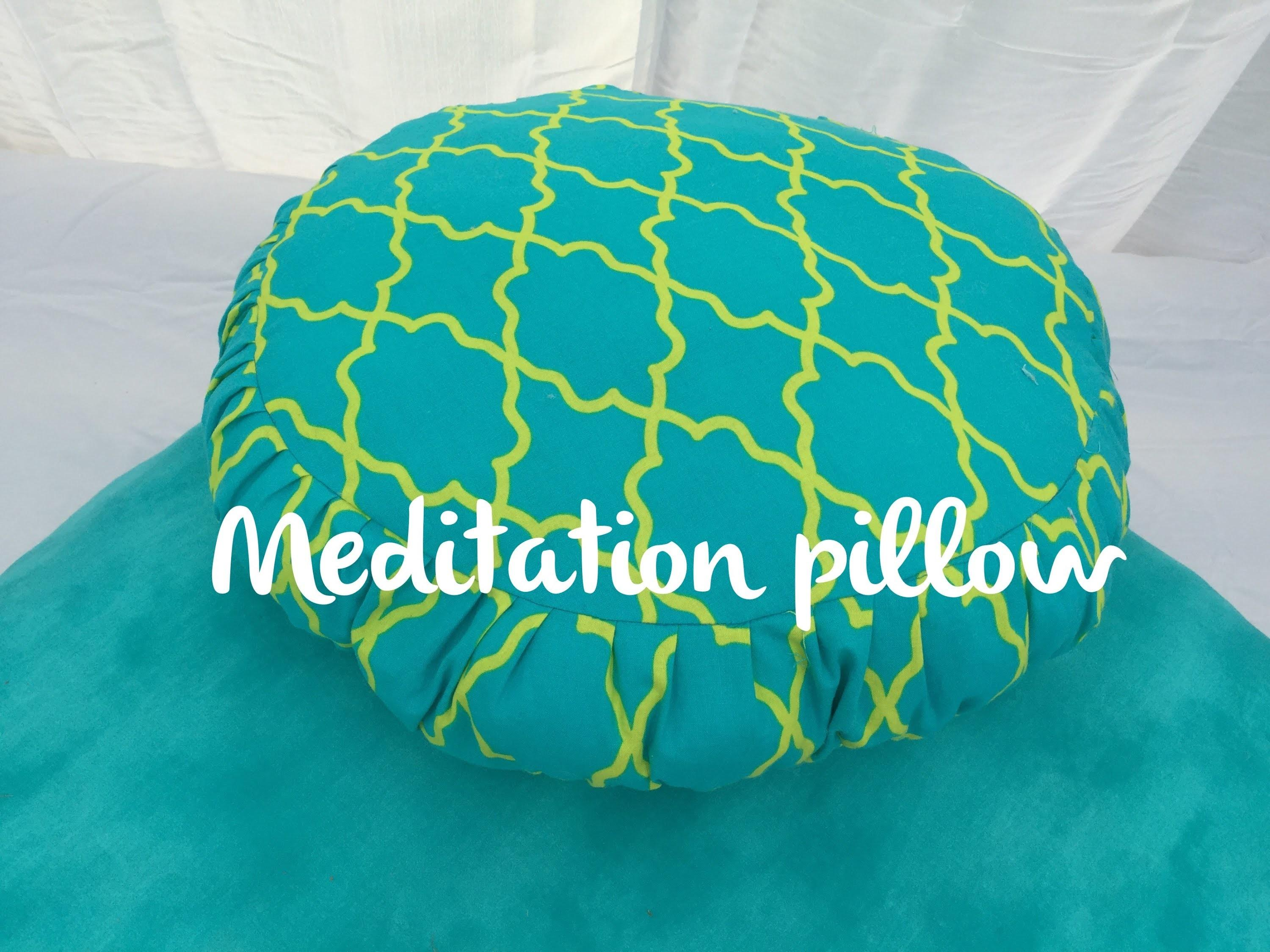 Make Meditation Pillow Diy