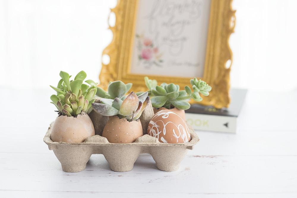 Make Modern Easter Decor Eggs Lily Val Living