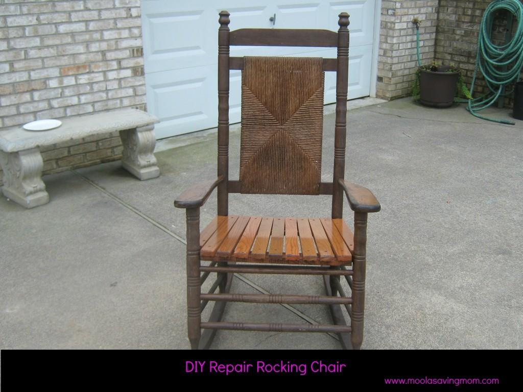 Make Mondays Repair Rocking Chair Moola Saving Mom