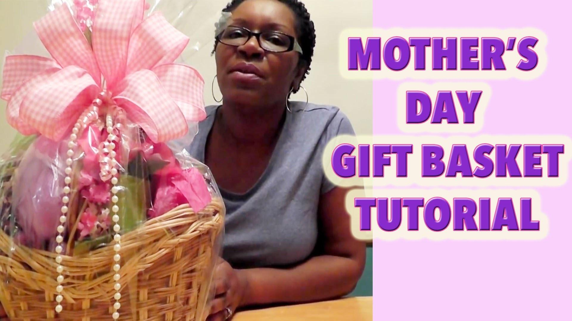 Make Mother Day Basket Dollar Tree Diy Gift Ideas
