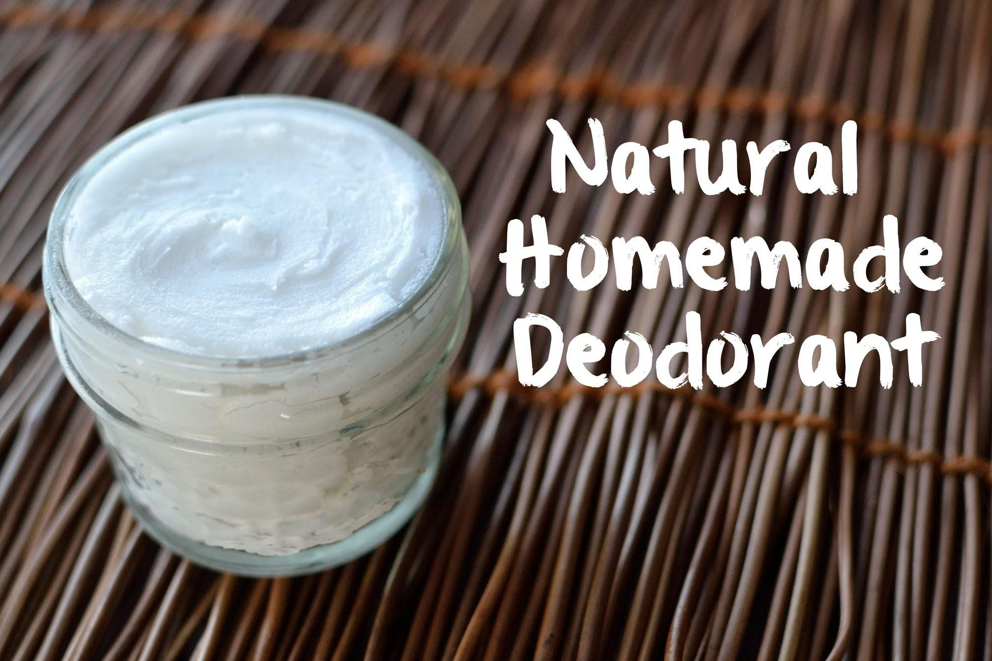 Make Natural Deodorant Ingredients