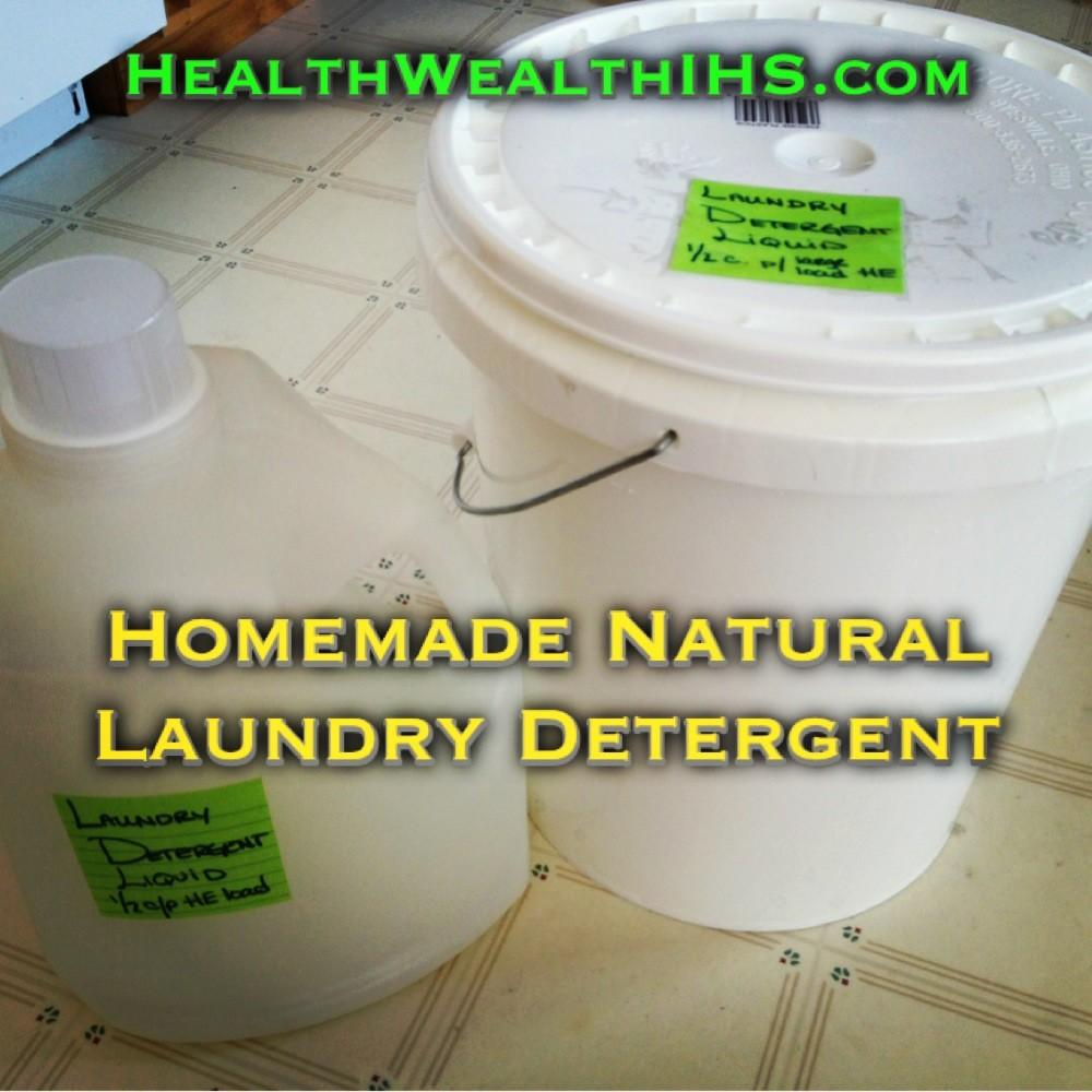 Make Natural Laundry Detergent Chemical