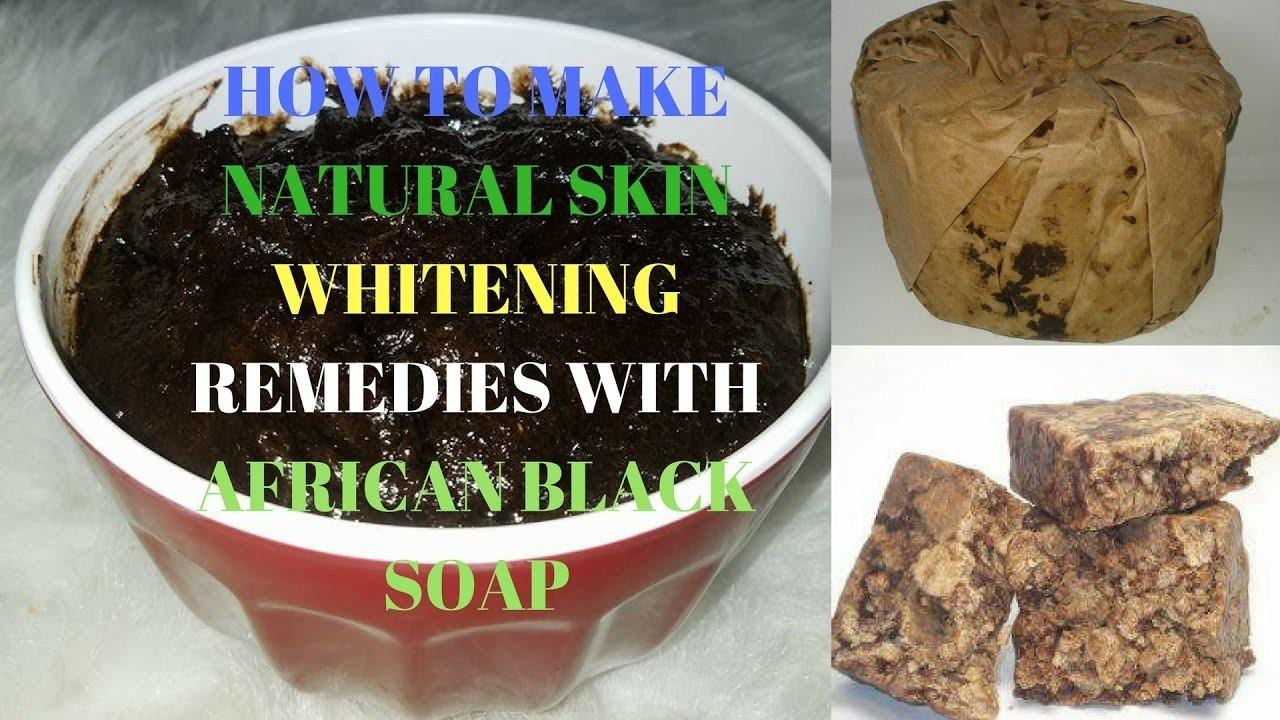 Make Natural Skin Whitening Remedies African