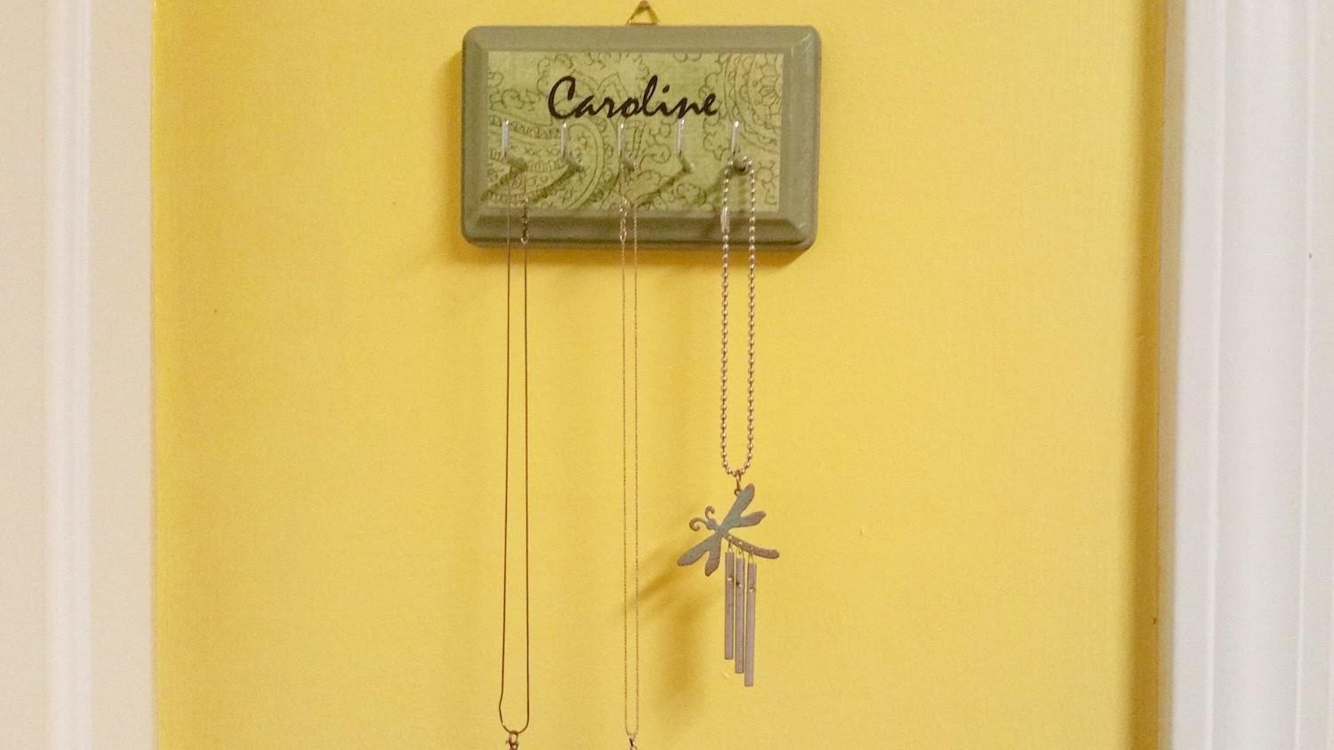 Make Necklace Holder Diy