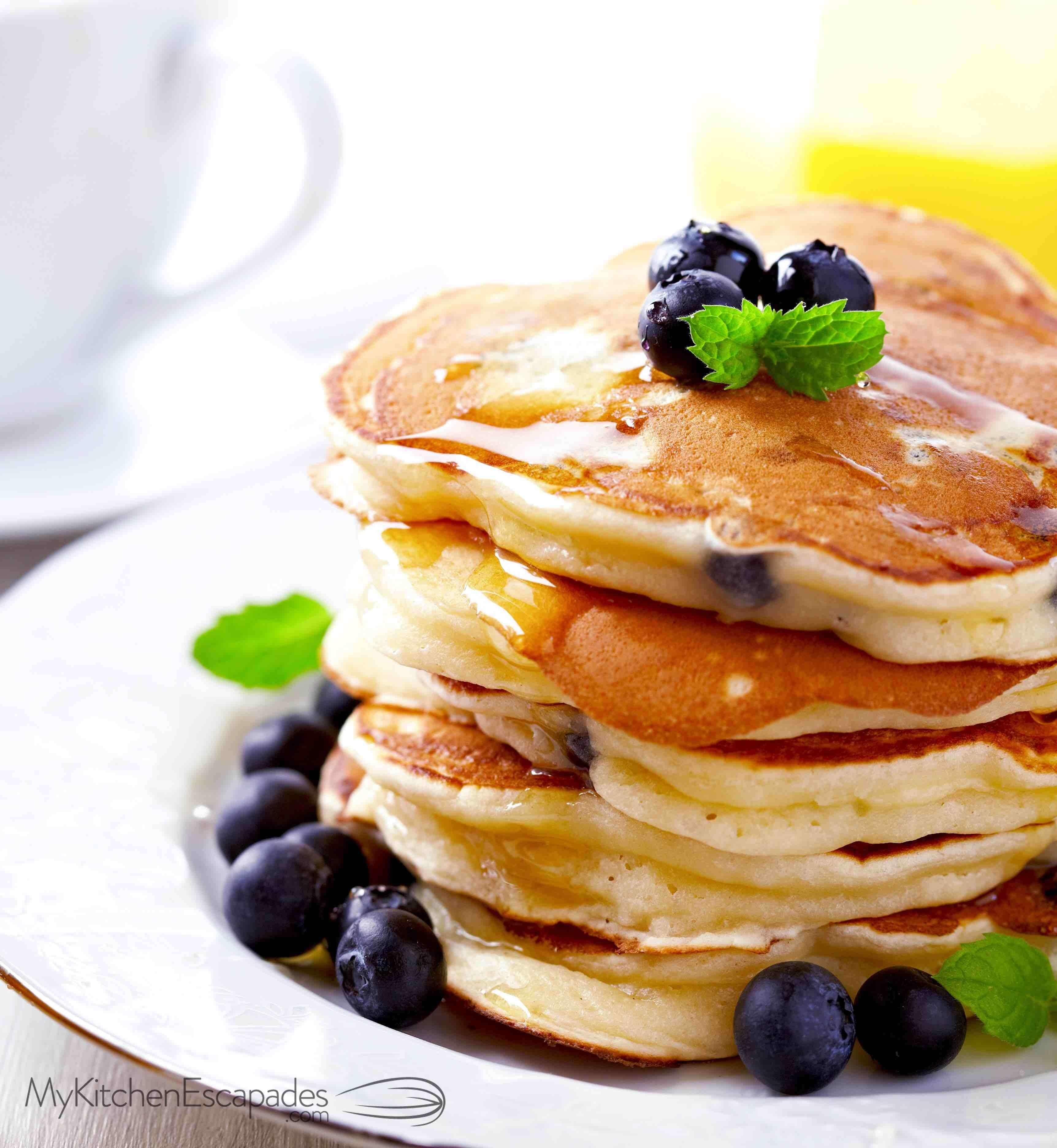 Make Pancakes Scratch Delicious Easy