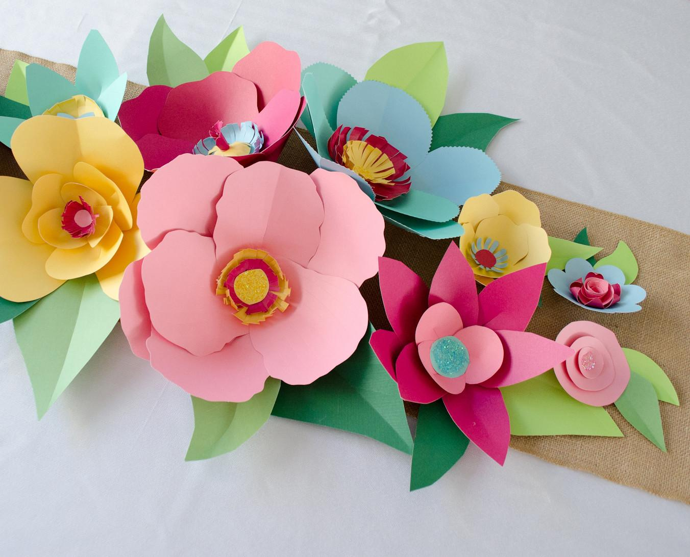 Make Paper Flowers Project Nursery
