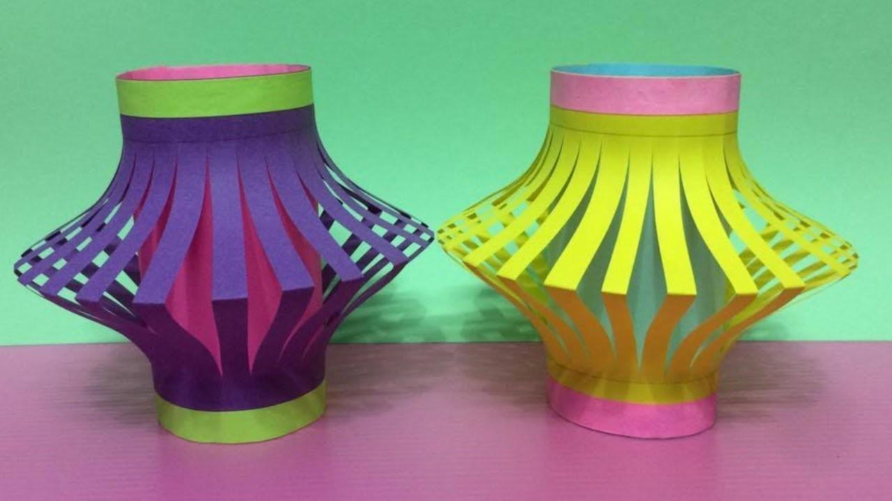 Make Paper Lantern Making Fancy