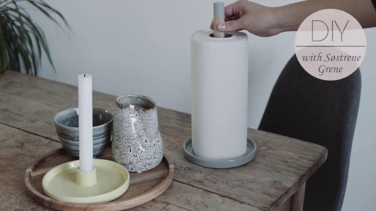 Make Paper Towel Holder Strene Grene Diy