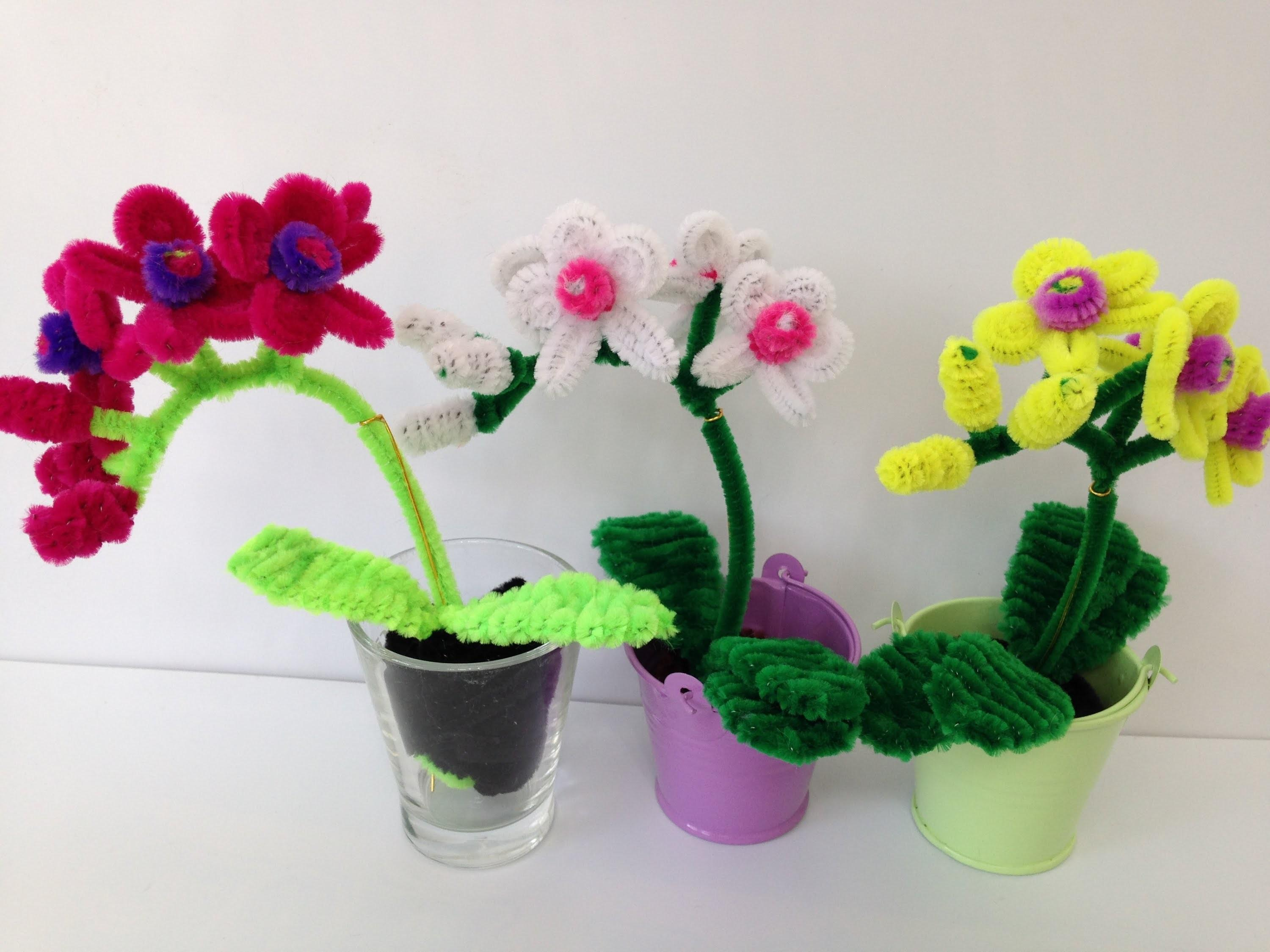 Make Pipe Cleaner Orchid