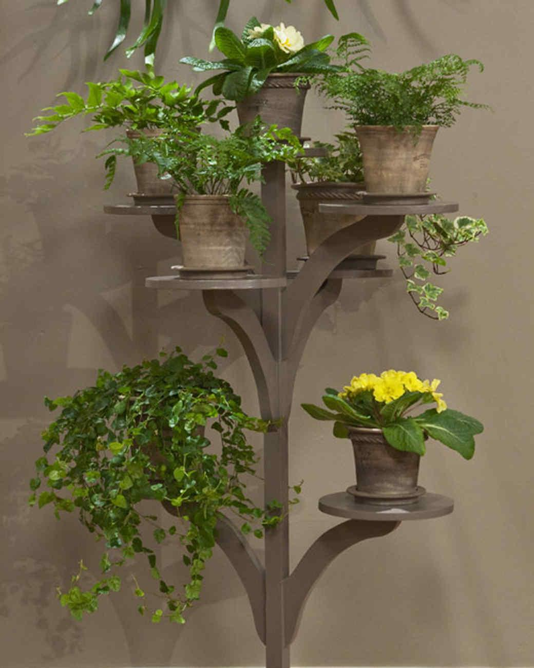 Make Plant Stand Video Martha Stewart