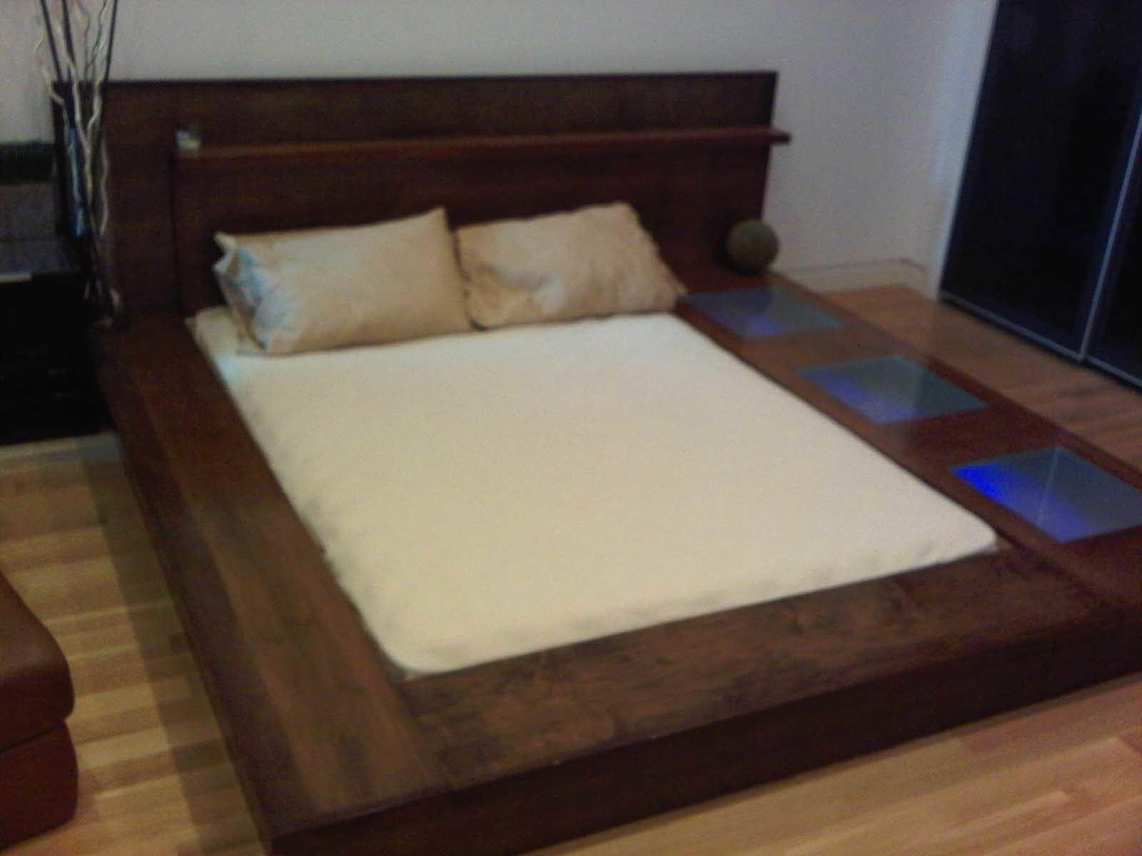 Make Platform Bed Frame Storage Underneath