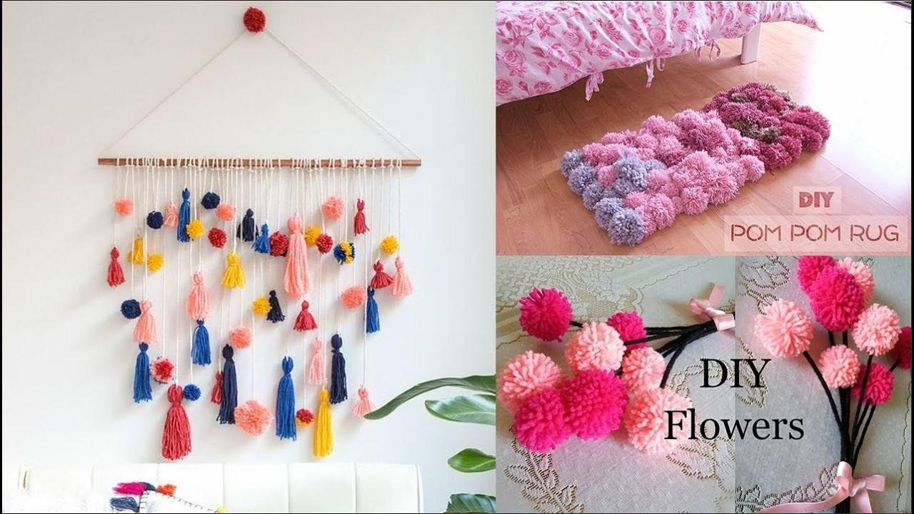 Make Pom Top Craft Ideas Home