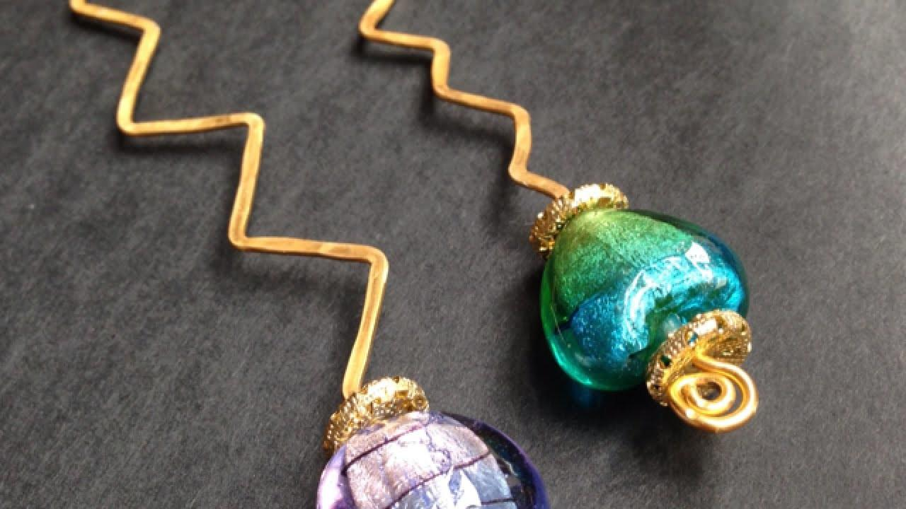 Make Pretty Beaded Wire Bookmarks Crafts Guidecentral