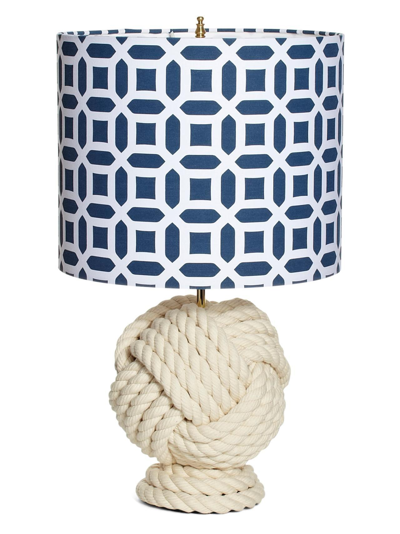 Make Rope Knot Lamp