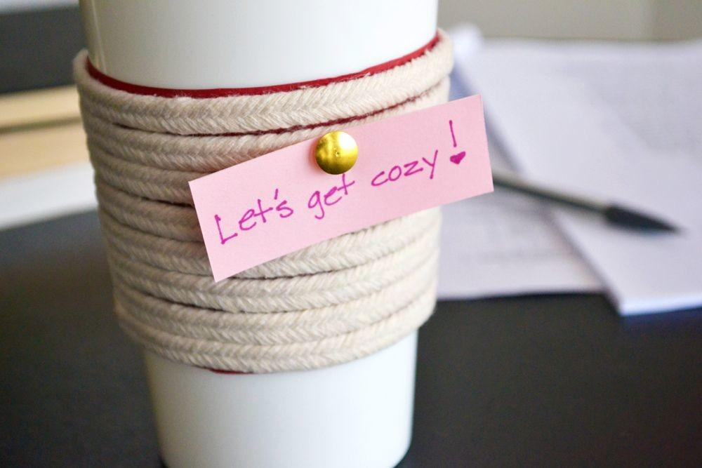 Make Roped Cup Cozy
