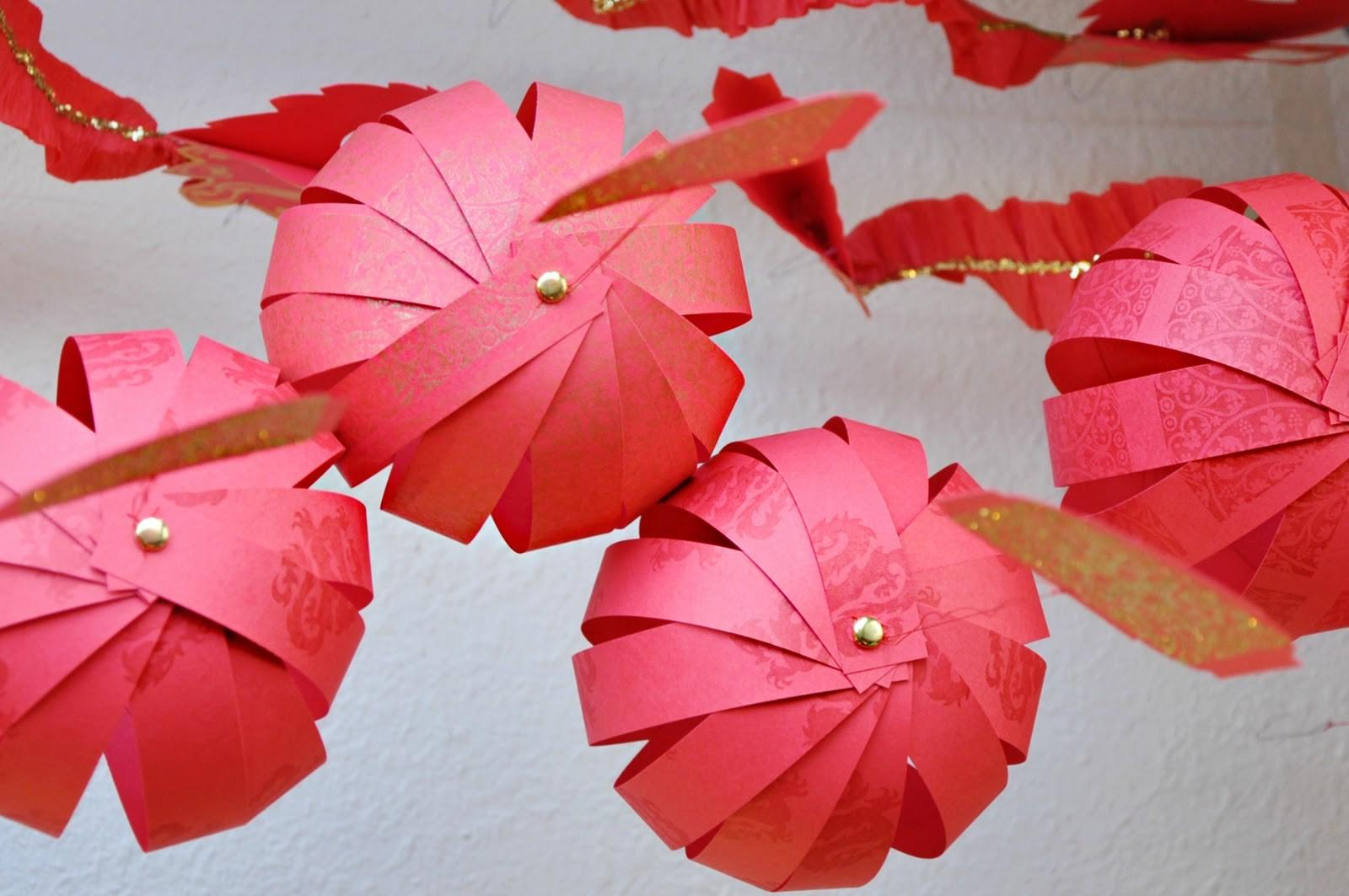 Make Round Paper Lanterns Pixshark