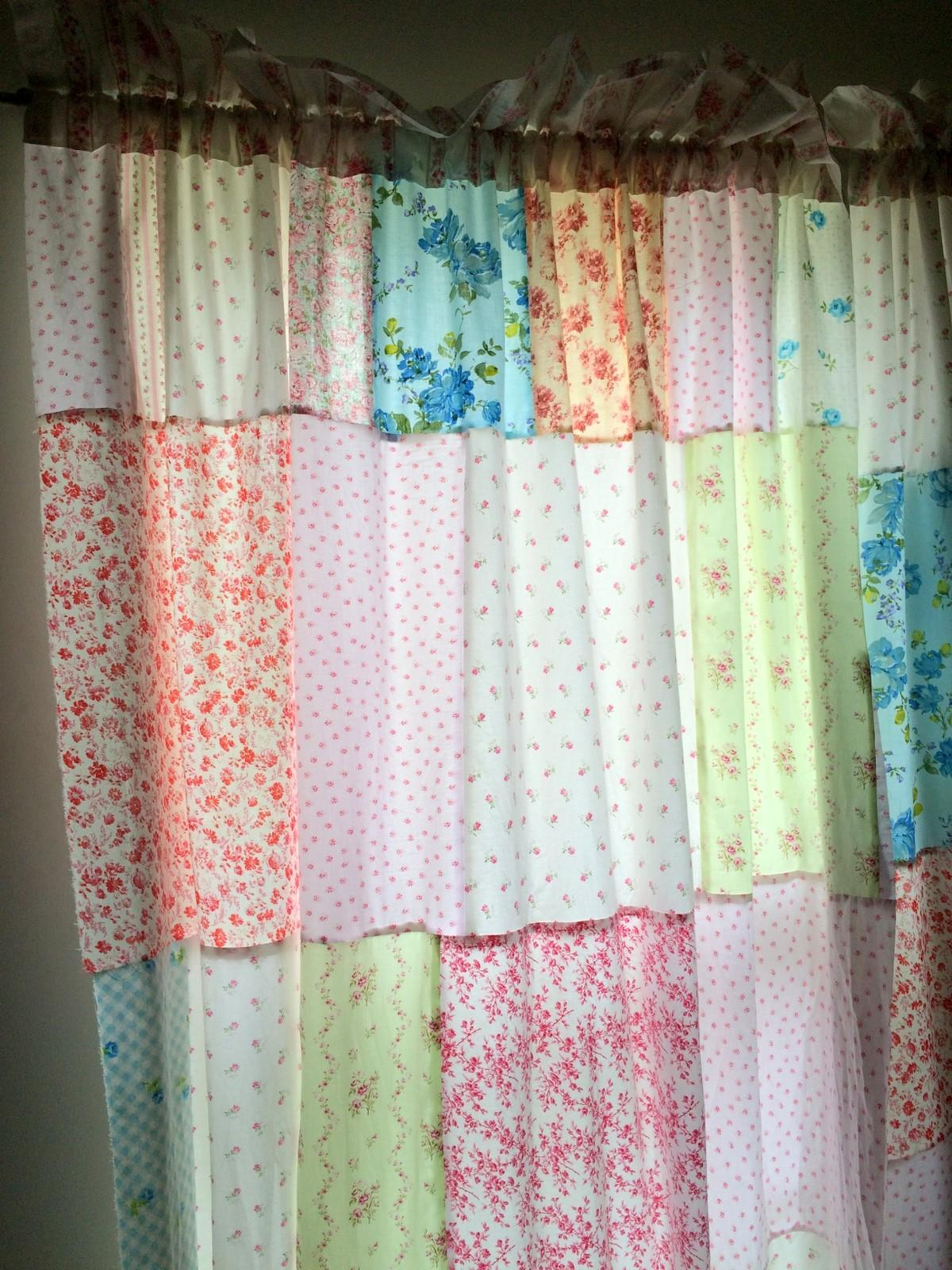 Make Shabby Chic Curtains Easy Diy Tutorial