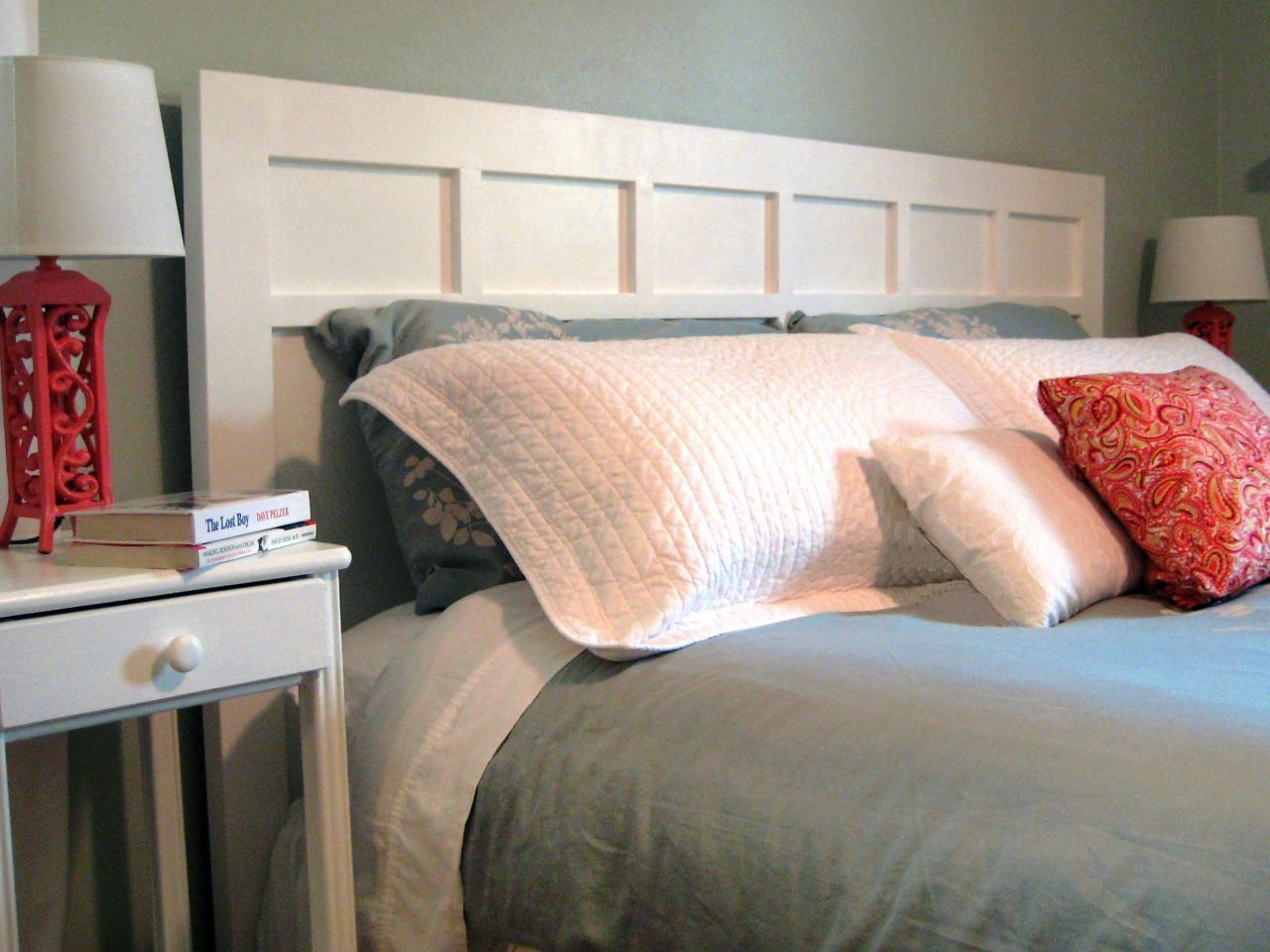 Make Simple Cottage Style Headboard Tos Diy