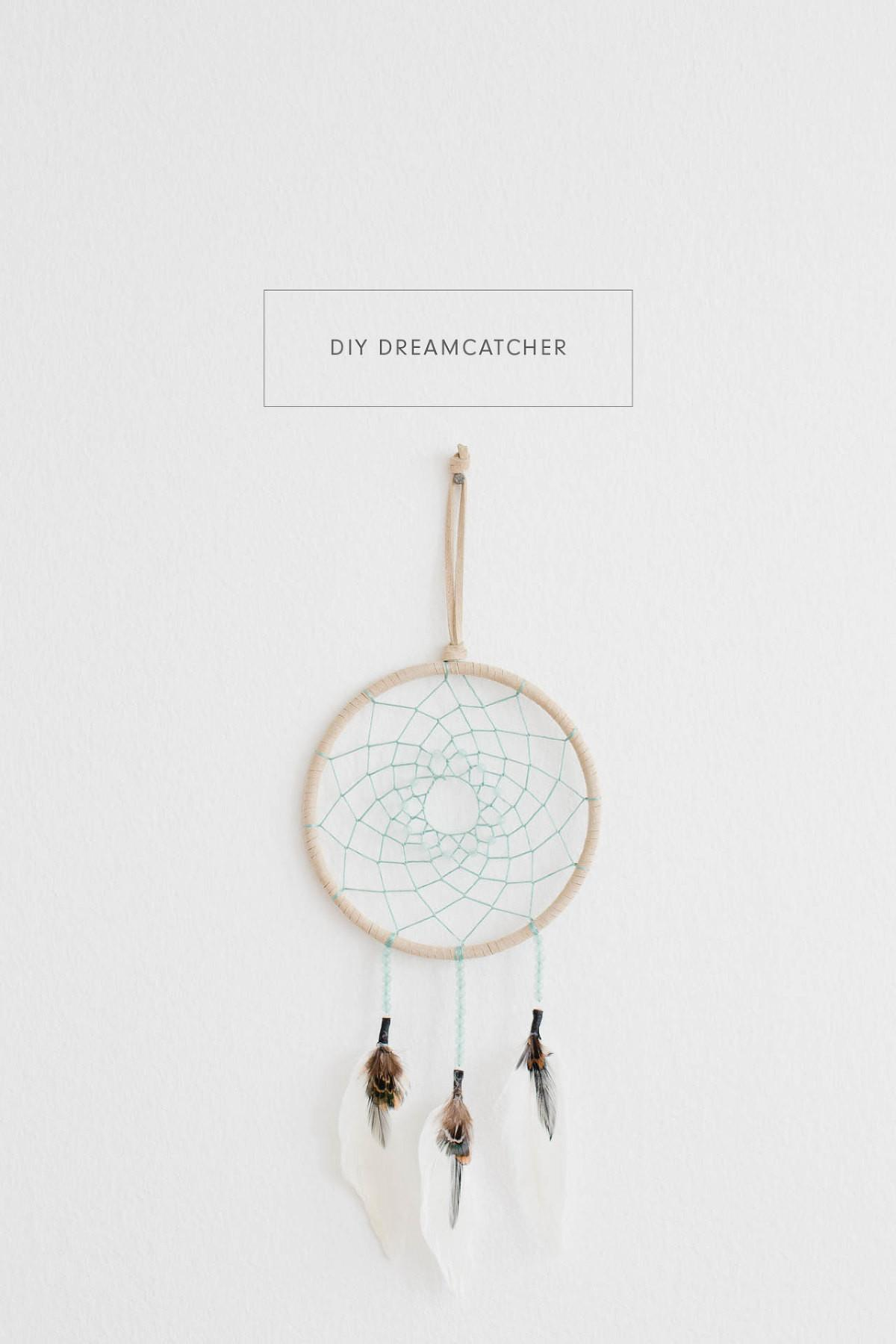 Make Simple Diy Dreamcatcher Kaley Ann